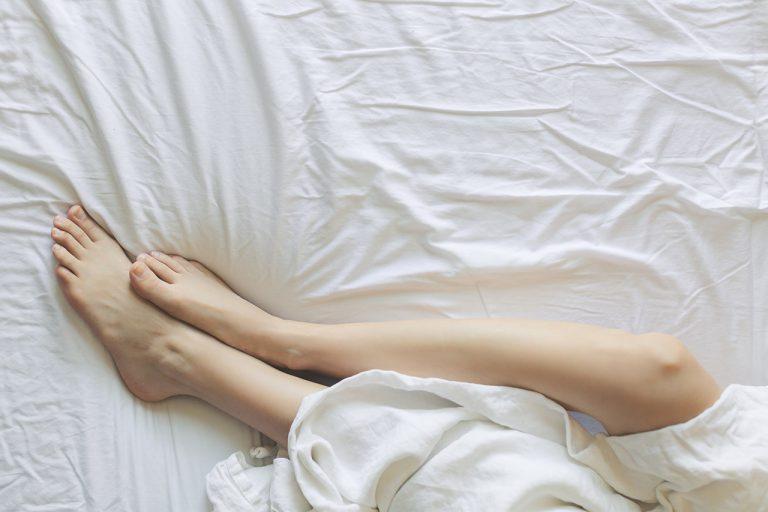 depilated legs
